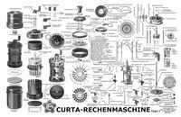 Curta CALCOLATRICE MECCANICA Dark Roasted Blend: Stunningly Intricate: Curta Mechanical Calculator