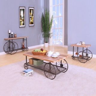 Shop for Acme Furniture Francie Grey Metal and Wood Occasional Tables. Get free shipping at Overstock.com - Your Online Furniture Outlet Store! Get 5% in rewards with Club O! - 20561513