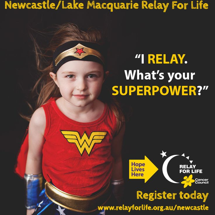I Relay.  What's your SUPERPOWER?