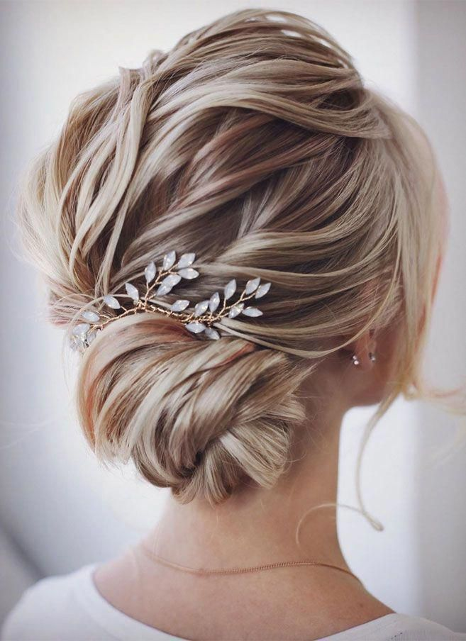 Elegant Prom Updo Wedding Hairstyles For Medium Length Hair And Long Hair Trending Wedd Wedding Hair Pieces Wedding Hair Inspiration Medium Length Hair Styles