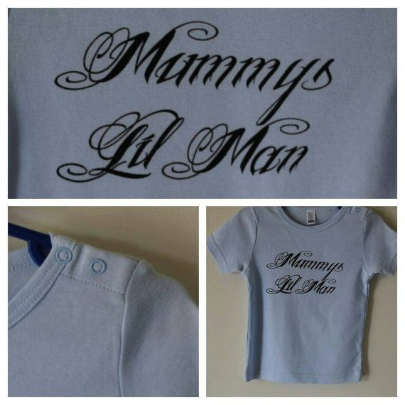 Check out this item in my Etsy shop https://www.etsy.com/listing/210496699/boys-mummys-lil-man-tee-size-18-24