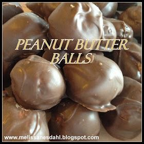 Fill My Cup: Friday Christmas Food Favs: Crunchy Peanut Butter Balls