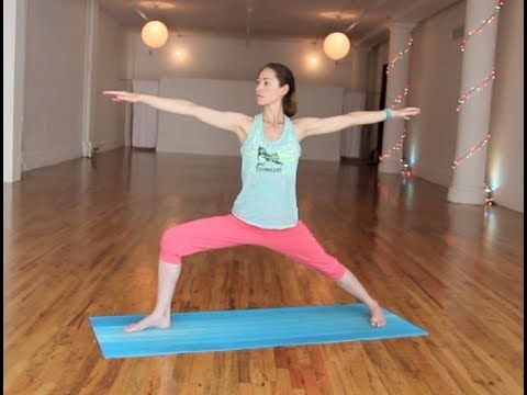 Prenatal Yoga for Stability & Balance... You don't necessarily have to be pregnant for this though...it is just a really nice, easy routine!