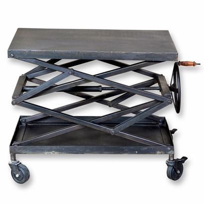 Industrial Scissor Lift Table - Click to enlarge