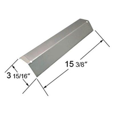 Heavy Duty BBQ Parts 92311 Porcelain Steel Heat Plate for Aussie/Brinkmann/Charmglow/Grill King/Master Forge/Tera Gear/Uniflame Brand Gas Grills