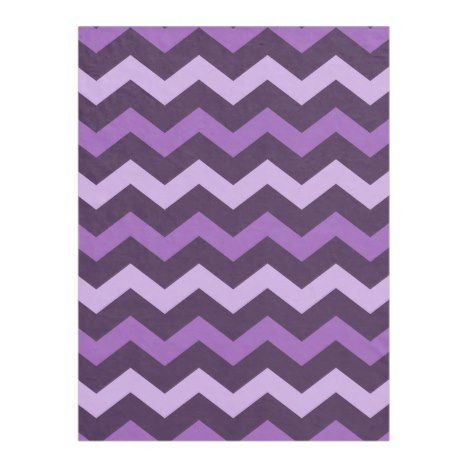 Modern Purples Chevron Pattern Fleece Blanket Check out these blankets that you can personalize with your own names. #blanket #throw #homedecor