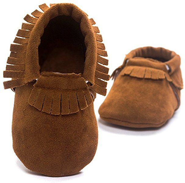 Cozy Boutique Moccasin Baby Boy Girl Shoes Infant Booties 0-5Y Soft//Rubber Sole
