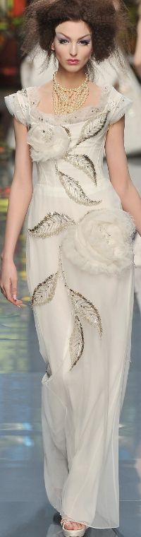 John Galliano for The House of Dior,  Spring/Summer 2009, Haute Couture