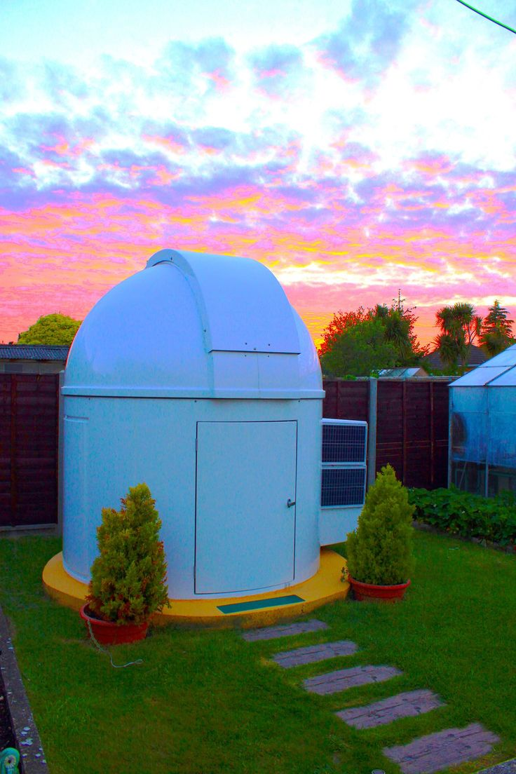 how to build an observatory dome