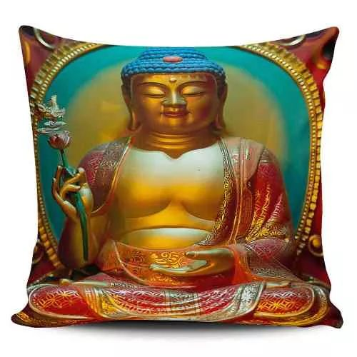 Cojin Decorativo Tayrona Store  Buda 06 - $ 43.900