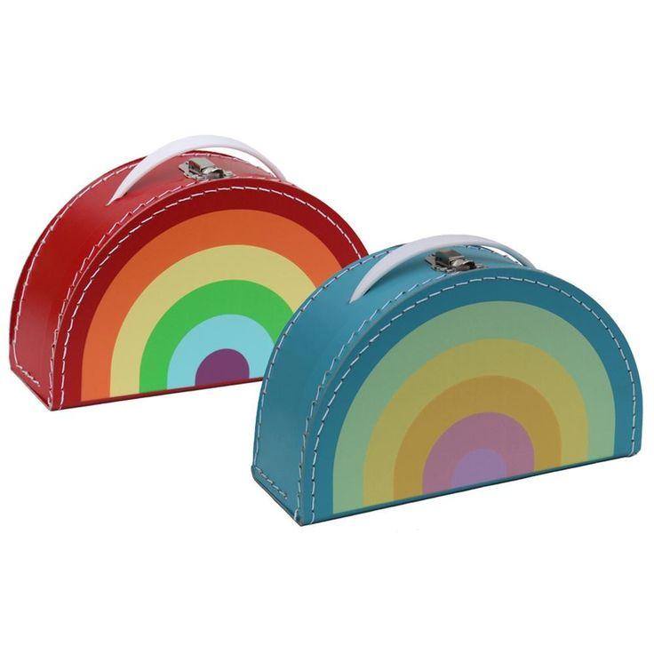 13.95€ Kids Boetiek Koffer Rainbow bright direkt erhältlich im Nor