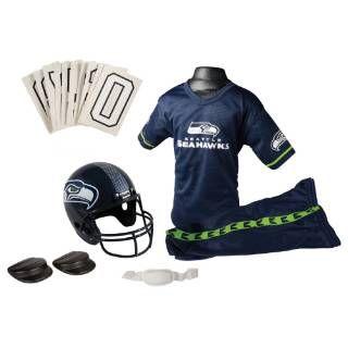 Check out the Franklin Sports 15701F28P1Z NFL Seahawks Medium Uniform Set