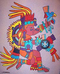 Tonatiuh (the sun god).