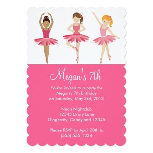 Ballerina birthday invites image collections invitation templates ballet birthday invitations images coloring pages adult 83 best dance ballet party invitations images on pinterest filmwisefo