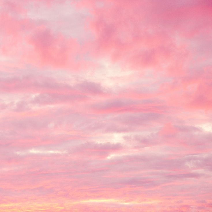 Pink Sky - I would love some of this color in my house...