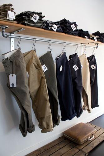 hung by belt loops | #visual #merchandising