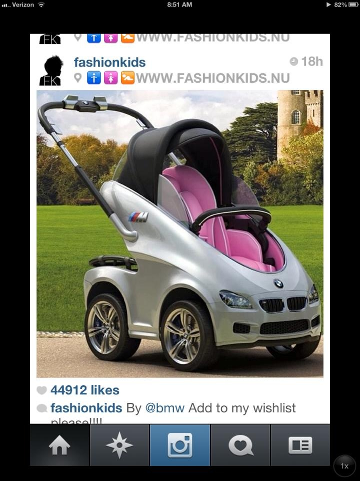 Bmw stroller awesome baby info for later for Mercedes benz baby pram