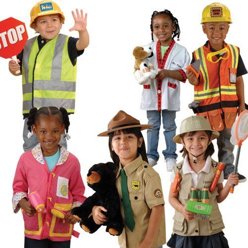 Community Helpers Outfits / Costumes for Kids - Set of 6 ...