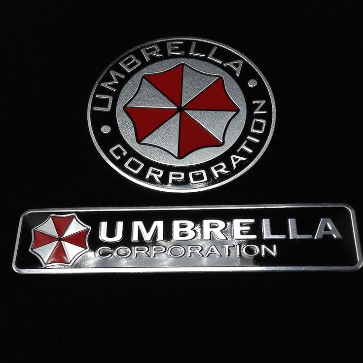 Pas cher 3D Aluminium Umbrella corporation autocollant de voiture accessoires autocollants Pour ford focus cruze kia rio skoda octavia mazda opel M bmw vw, Acheter  Autocollants de qualité directement des fournisseurs de Chine: 100% Nouveau et de haute qualité.taille: 2.6x12 cm, 7.5x7.5 cmmatériel: aluminiums'il vous plaît nettoyer la