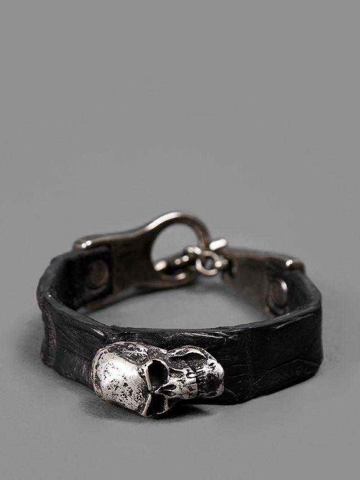 Scunzani Ivo bracelet with skulls #scunzaniivo