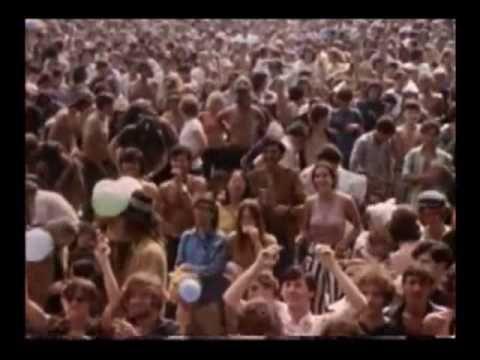 Woodstock 1969 - Leaving the Festival - Better Quality - YouTube