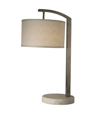 50% OFF Trend Lighting Station Table Lamp, Brushed Nickel