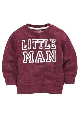 Plum Little Man Crew Neck