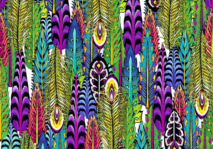 Anna Llop Disseny's print for swimwear and coverup fabrics from New Horizons 2014 Collection