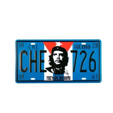 Chapa Decorativa Retro Che Azul $ 119.0