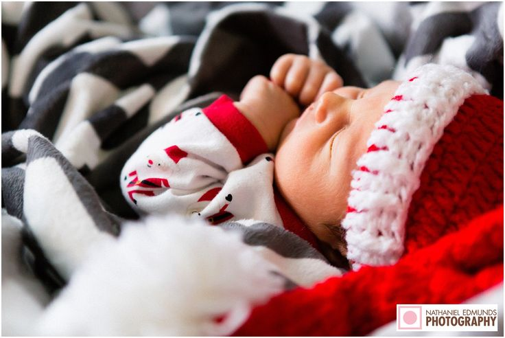 Someone special arrived for Christmas. #newbornphotographer