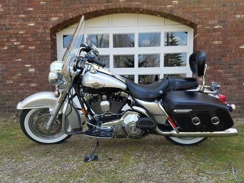 2003 Harley Davidson FLHRCI Road King Classic, Price:$11,500. Delton, Michigan #harleydavidsons #harleys #cvo #roadkingclassic #motorcycles #hd4sale