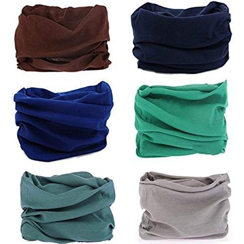 KALILY 6PCS 9PCS Headband Bandana - Versatile Sports   Casual Headwear –Multifunctional  Seamless Neck fa020228f3f2
