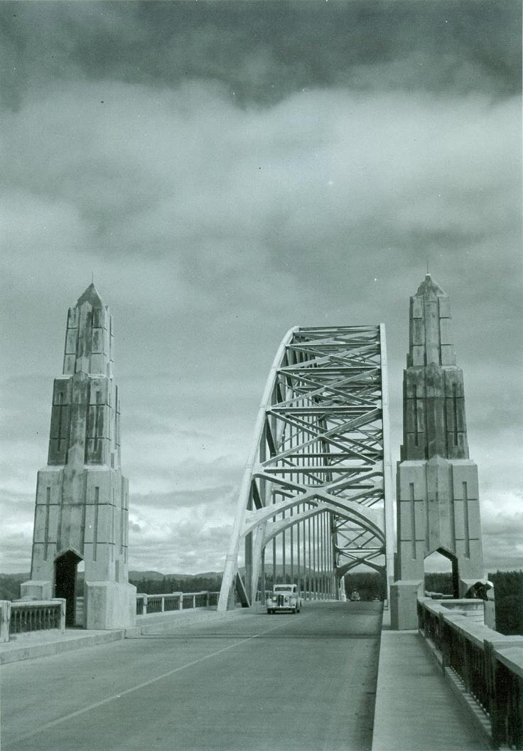 Yaquina Bay Bridge 1939 Newport