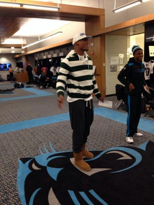 Cam Newton Doesn't Care What You Think About His Uggs