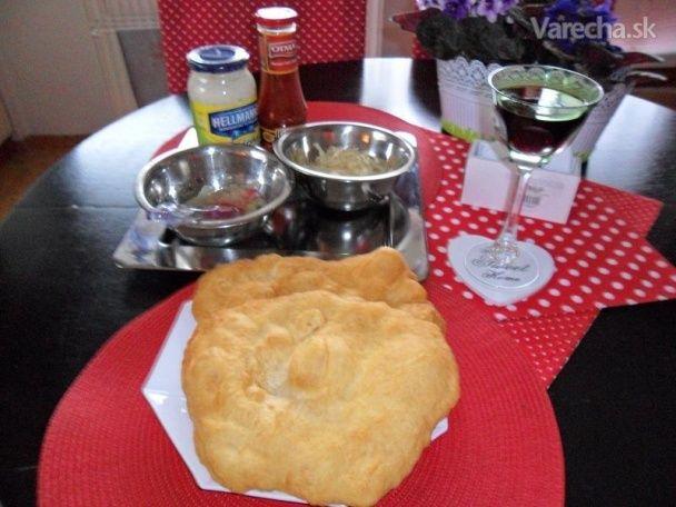 Žobrácke langoše - vynikajúce (fotorecept) - Recept