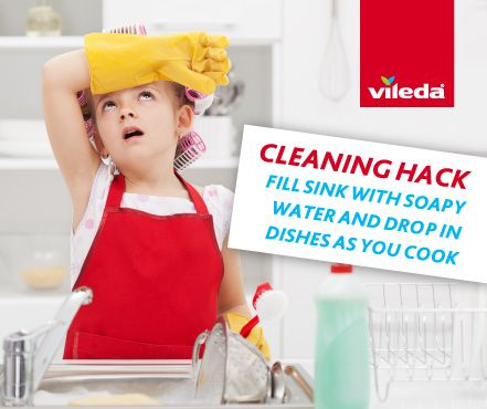 This promises to make cleaning up after cooking easier and faster.