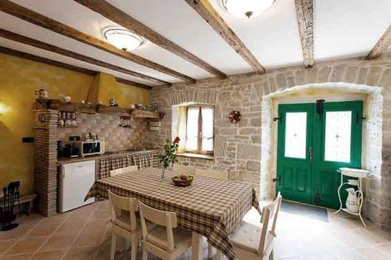 Kroatien Istrien (Nahe Krbune) - Romantisches Ferienhaus für 4 Personen Essbereich Ref. 160284-20