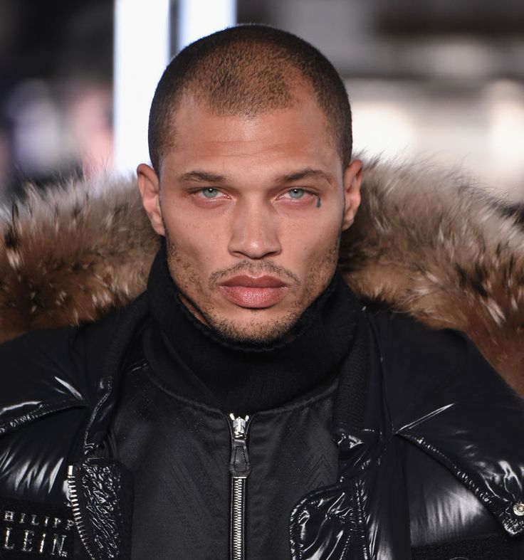 Momma, he's made it! Jeremy Meeks, the man dubbed #PrisonBae after his mug shot went viral, made his New York Fashion Week runway debut in Phillipp Plein's show Monday.