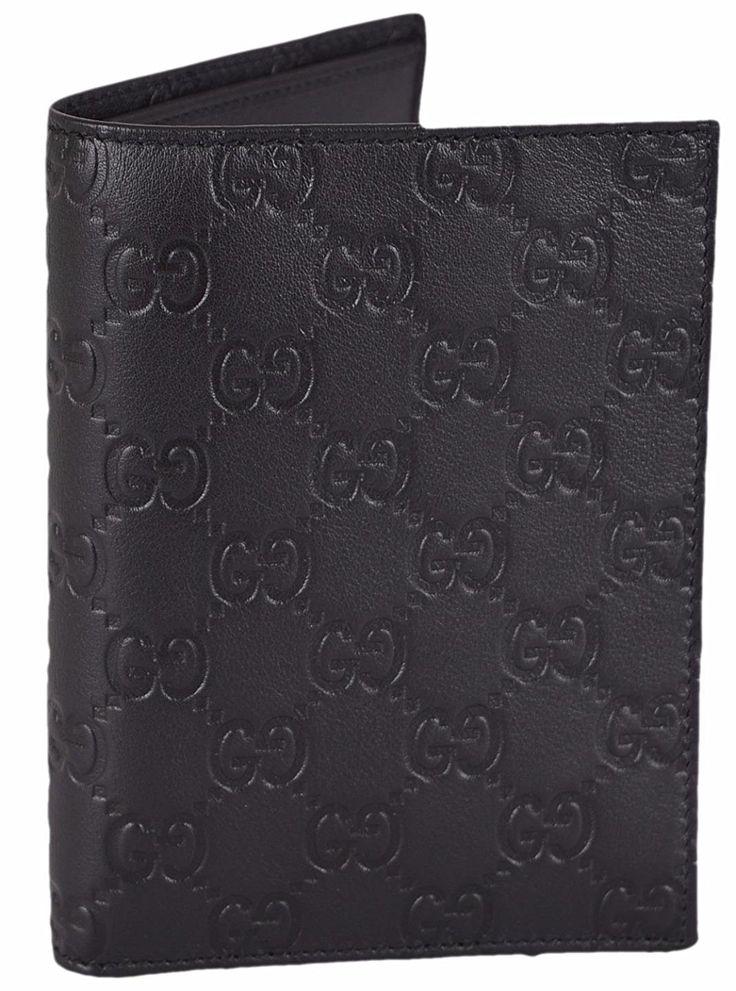 fc0d1bf5df91 New Gucci 217044 Men's Brown Leather GG Guccissima Trifold Passcase ID  Wallet #Gucci #Trifold | Annie's Unique Accessories/Gucci | Pinterest |  Gucci, .