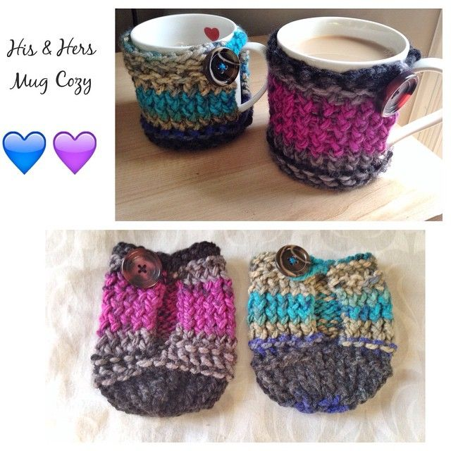 Cases cozy coffee mug loom woven by Tracy *not in English*
