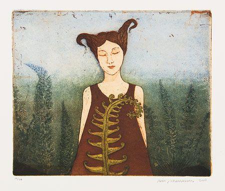 Kirsi Neuvonen, Saniaistyttö / Fern Girl (2007)