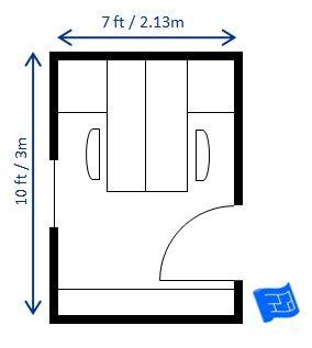 Home Office Floor Plan