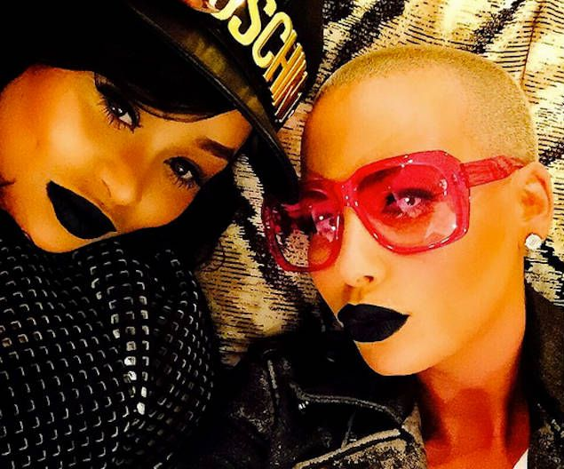 Amber Rose and Blac Chyna Twerk Together In Racy Clip. Watch!