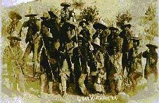 Tropas de Francisco Madero