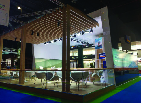 Diseño de Stand para Feria Oil & Gas – RMB Design Solutions