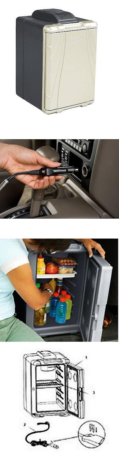 12-Volt Portable Appliances: Coleman 40Qt Car 12V Cooler Refrigerator Travel Portable Iceless Electric Fridge BUY IT NOW ONLY: $114.36