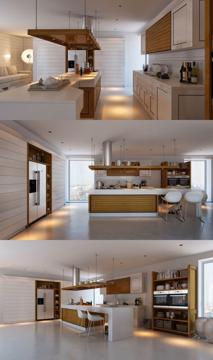 115 best Kitchen images on Pinterest | Kitchen modern, Home ideas ...