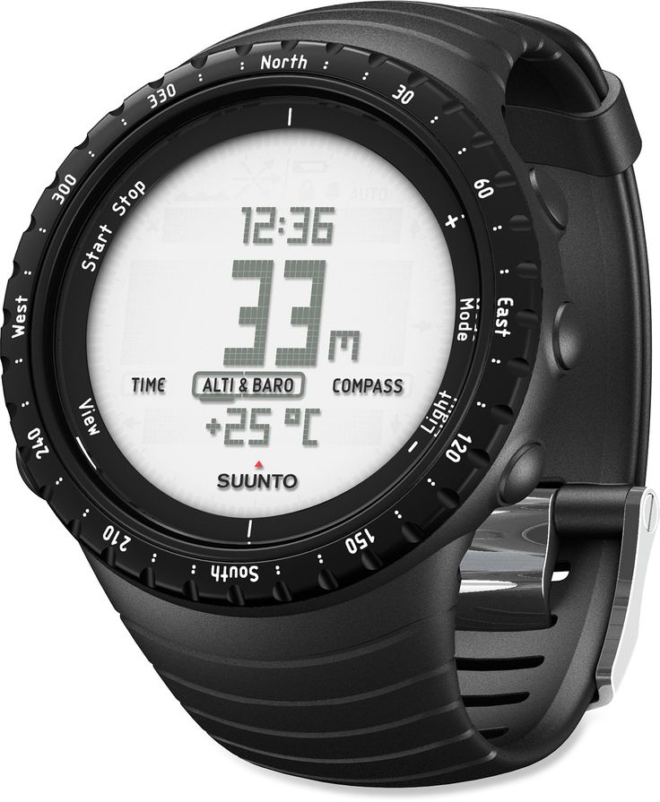 Suunto Core Multifunction Watch - All Black - I want this!