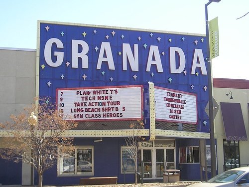 the granada a movie theater when i first moved to