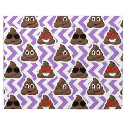 #trendy - #Purple Patterned Poop Emojis Puzzle